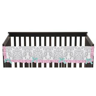 Sweet Jojo Designs Skylar Collection Long Crib Rail Guard Cover