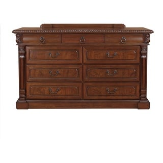 LYKE Home Jules Cherry 9-drawer Dresser