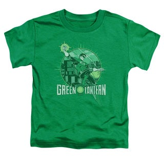 DC/City Power Short Sleeve Toddler Tee in Kelly Green