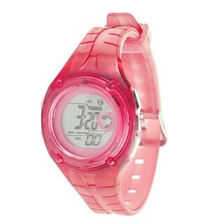 RBX Sport Digital Pink Rubber Strap Watch