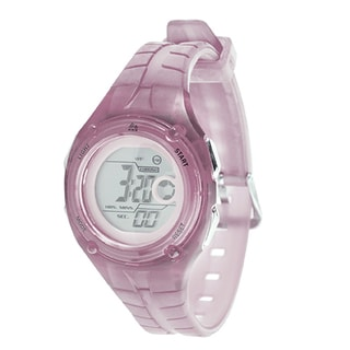 RBX Sport Digital Pink Rubber Strap Watch