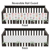 Sweet Jojo Designs Feather Collection Crib Bedding Set