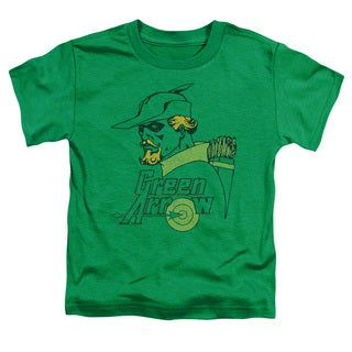 DC/Close Up Short Sleeve Toddler Tee in Kelly Green