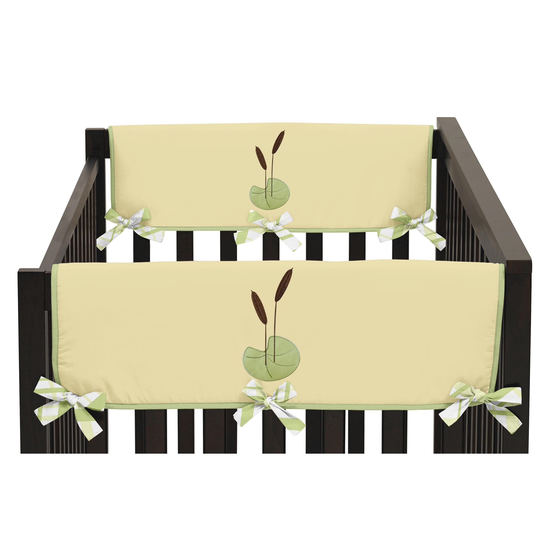 JoJo Designs Side Crib Rail Guard Covers for Leap Frog Co...