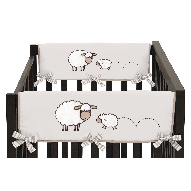 JoJo Designs Cotton and Brushed Microfiber Fabrics Crib R...