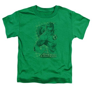 DC/Pencil Energy Short Sleeve Toddler Tee in Kelly Green