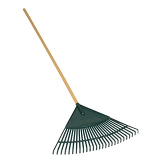 Seymour 40882 26-Tine Leaf Rake With 24-inch Red Poly Head