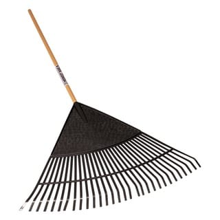 Seymour 40884 30-Tine Leaf Rake With 30-inch Poly Head