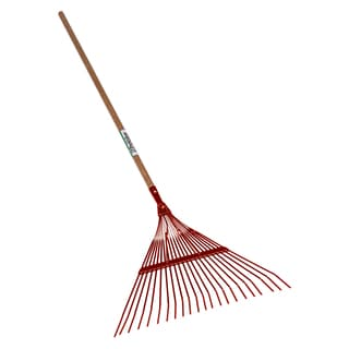 Seymour 40940 18-Tine Leaf Rake With 18-inch Steel Head