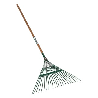 Seymour 40942 22-Tine Leaf Rake With 22-inch Steel Head