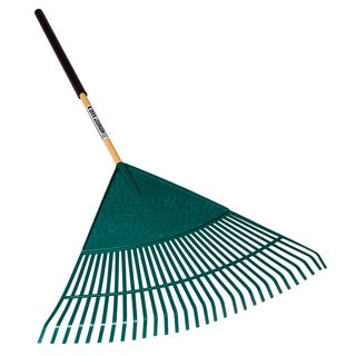 Seymour 40885 30-Tine Leaf Rake With 30-inch Poly Head