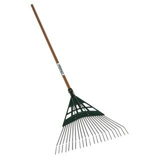 Seymour 43372 22-Tine Leaf Rake With 22-inch Poly Head