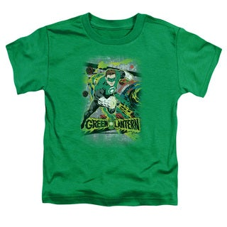 DC/Space Sector 2814 Short Sleeve Toddler Tee in Kelly Green