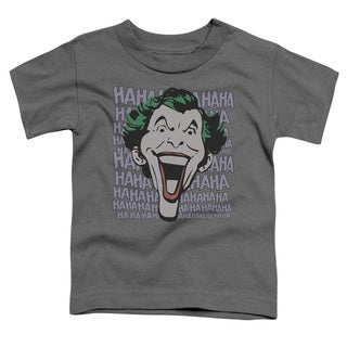 DC/Dastardly Merriment Short Sleeve Toddler Tee in Charcoal