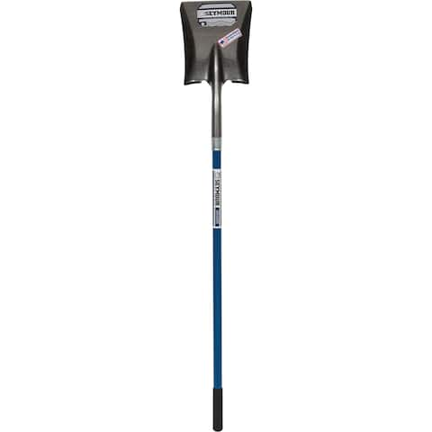 Seymour 49452 9-inch Square Point Shovel With 46-inch Fiberglass Handle
