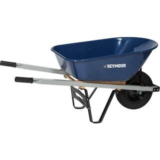 Seymour 85724 60-inch X 26.5-inch X 10.75-inch Wheelbarrow - Multi - 60 x 27 x 11