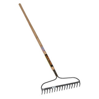 Seymour 42357 67-inch X 16.5-inch X 3.5-inch Bow Rake With 16 Tines