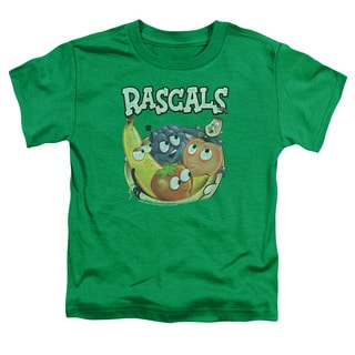 Dubble Bubble/Rascals Short Sleeve Toddler Tee in Kelly Green