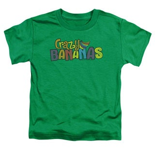 Dubble Bubble/Crazy Bananas Short Sleeve Toddler Tee in Kelly Green