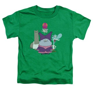 Chowder/Group Short Sleeve Toddler Tee in Kelly Green