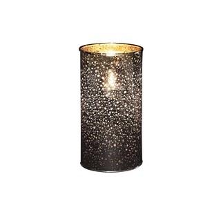 Boston Warehouse Silvertone Mercury Glass Flameless 6-inch Torchier Candle