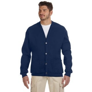 50/50 Men's J Navy Nublend Cardigan