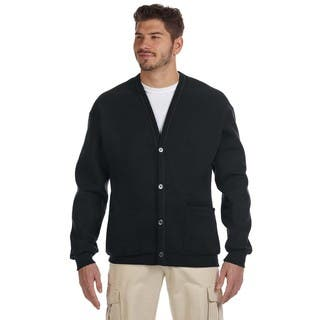 50/50 Men's Black Nublend Cardigan|https://ak1.ostkcdn.com/images/products/12404370/P19224267.jpg?impolicy=medium