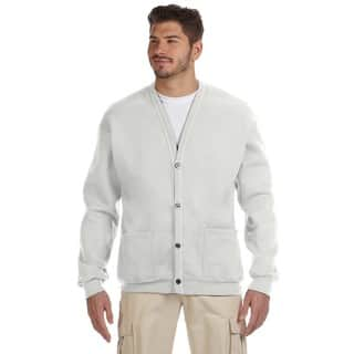 50/50 Men's Ash Nublend Cardigan|https://ak1.ostkcdn.com/images/products/12404371/P19224268.jpg?impolicy=medium