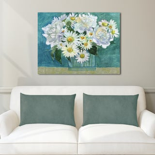 Portfolio Canvas Decor Maret Hensick Mixed Whites Stretched and Wrapped Canvas Print Wall Art