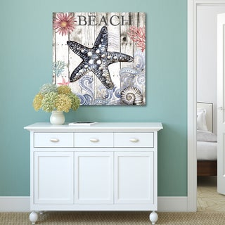 Portfolio Canvas Decor Elena Vladykina Harbor Life Starfish Stretched and Wrapped Canvas Print Wall Art