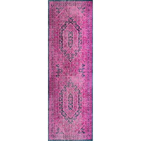 nuLOOM Vintage Persian Distressed Area Rug