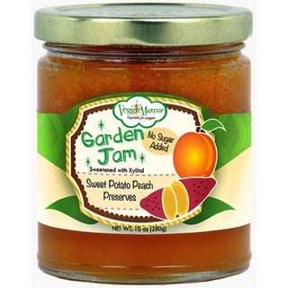 Veggie Mama Sweet Potato Peach Garden Jam (4 Jars)