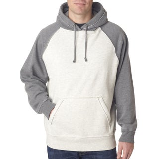 Vintage Men's Heather Men's Pullover Hood Oatmeal Heather/Smoke Heather Sweater (4 options available)
