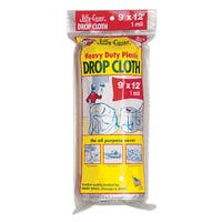 Warps JCS-912 9' X 12' Plastic Jiffy Cover Drop Cloth