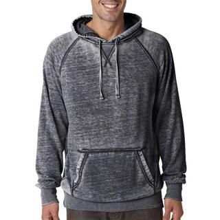 Vintage Men's Zen Fleece Men's Pullover Hood Dark Smoke Sweater