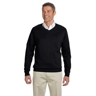 V-Neck Men's Black Sweater