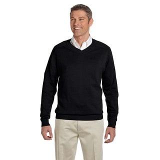 V-Neck Men's Black Sweater