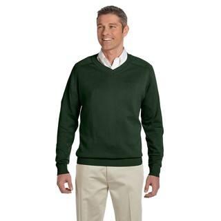 V-Neck Men's Forest Sweater