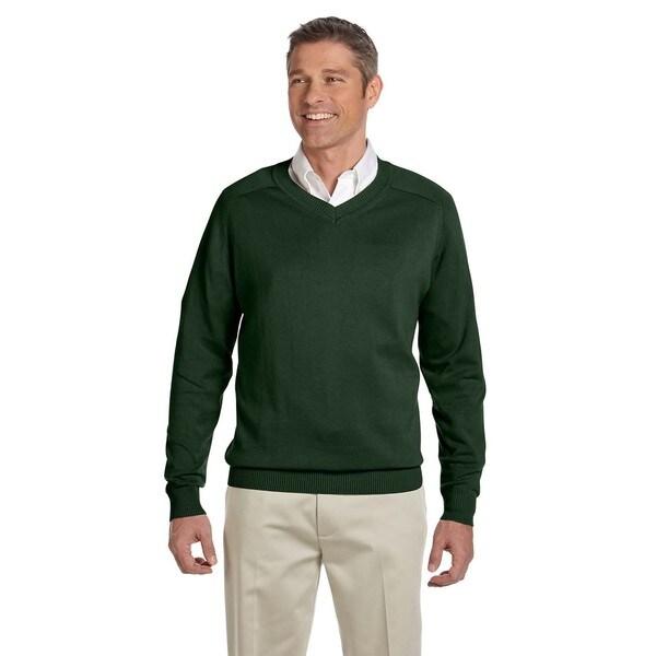 V-Neck Mens Forest Sweater
