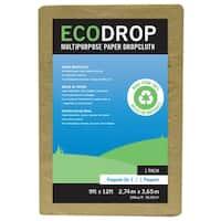 Trimaco 02101 9' X 12' Eco Drop Paper Drop Cloth