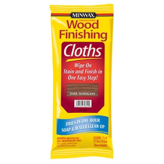 Minwax 30824 Dark Mahogany Wood Finishing Cloths