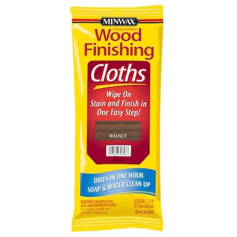 Minwax 30823 Walnut Wood Finishing Cloths