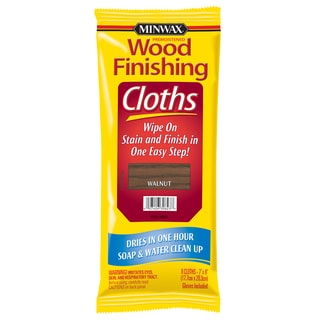 Minwax 30823 Walnut Wood Finishing Cloths