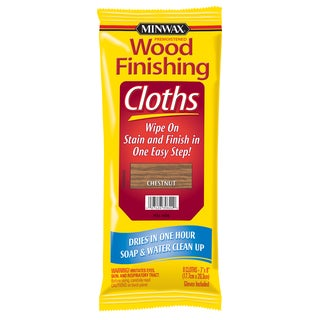 Minwax 30822 Chestnut Wood Finishing Cloths