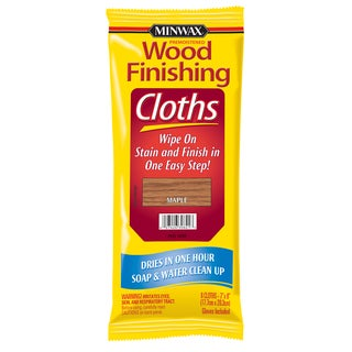 Minwax 30821 Maple Wood Finishing Cloths