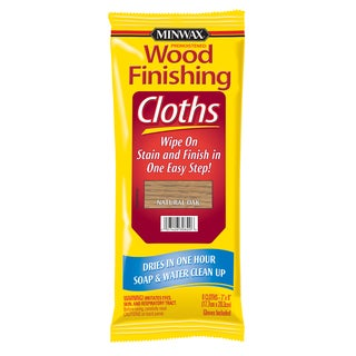 Minwax 30820 Natural Oak Wood Finishing Cloths