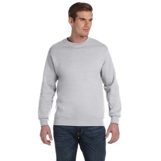 50/50 Fleece Men's Crew-Neck Ash Grey Sweater