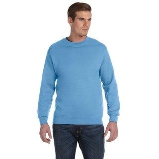 50/50 Fleece Men's Crew-Neck Carolina Blue Sweater