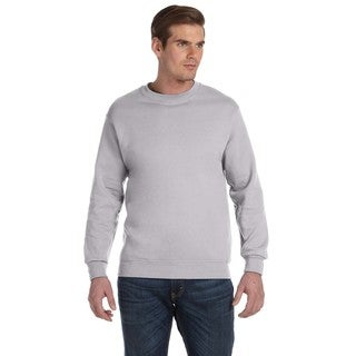 50/50 Fleece Men's Crew-Neck Sport Grey Sweater