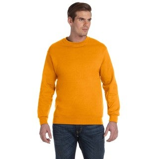 50/50 Fleece Men's Crew-Neck Tennessee Orange Sweater